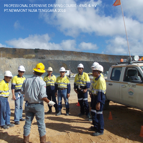 PDDC 4WD & HV PT. Newmont Nusa Tenggara